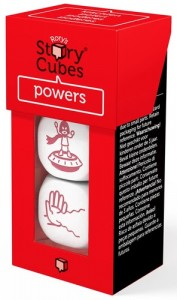 Настольная игра Rory's Story Cubes: Powers (Кубики Историй Рори: Суперспособности)