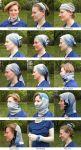 фото Зимняя мультиповязка (Бафф) BUFF Lightweight merino wool blue multi (115142.707.10.00) #2