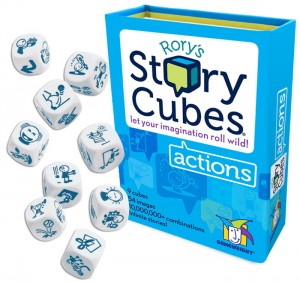 фото Настольная игра Rory's Story Cubes: Actions (Кубики Историй Рори: Действия) #2