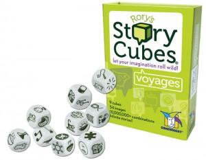 фото Настольная игра Rory's Story Cubes: Voyages (Кубики Историй Рори: В поездке) #2