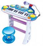 Пианино 'Музыкант' голубое (7235BLUE)