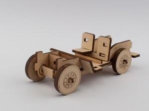фото Дерев'яний конструктор 'Джип Вілліс' (91124) #3