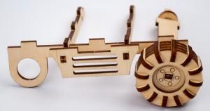 фото Дерев'яний 3Д конструктор 'Екскаватор' (96285) #5