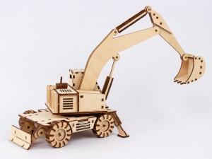 фото Дерев'яний 3Д конструктор 'Екскаватор' (96285) #4
