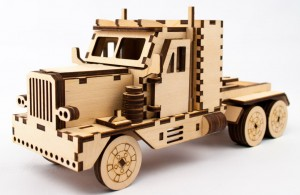 фото Дерев'яний 3Д конструктор 'Peterbilt' (93879) #2