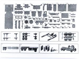фото Дерев'яний 3Д конструктор 'Peterbilt' (93879) #8