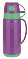 Вакуумный термос со стеклянной колбой Con Brio СВ - 354, 1 л, фиолетовый (СВ354 purple)