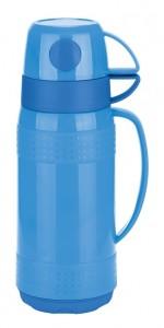 Вакуумный термос со стеклянной колбой Con Brio СВ - 354, 1 л, синий (СВ354 blue)