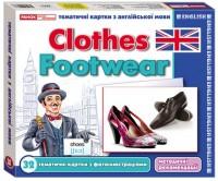 Книга Англійські картки 'Одяг. Взуття'