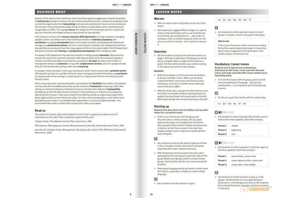 Market Leader Intermediate Third Edition Teacher Book