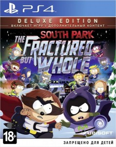 игра South Park: The Fractured but Whole Deluxe Edition PS4 - Русская версия