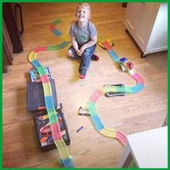 фото Гоночная трасса 'Magic Tracks' (Мэджик Трек) 165 деталей #4