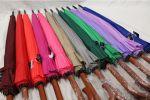 фото Зонт-трость 24 спицы (бордовый) #7