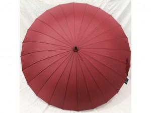 Зонт-трость 24 спицы (бордовый)
