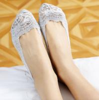Подарок Кружевные тапочки носочки (Серые)