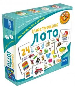 Настільна гра Granna 'Ілюстроване Лото' (82517)