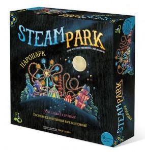 Настольная игра 'Паропарк' (Steam park)