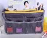 Подарок Большой органайзер для вещей Bag in Bag (серый)