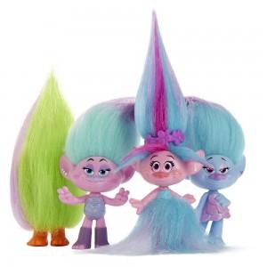 фото Набор Hasbro Trolls Wild Hair Pack (B6557 B7364) #3