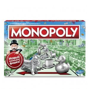 Настольная игра Hasbro 'Классическая Монополия. Обновленная' русская версия (C1009121)