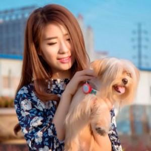 фото Силиконовый чехол для Amazpet Smart Dog Tag Pink (Р28598) #4