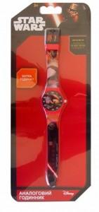 Часы аналоговые TBL 'Звездные войны, красные' (SW34908)