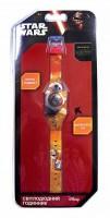 Часы светодиодные TBL 'Звездные войны, оранжевые' (SW35677)