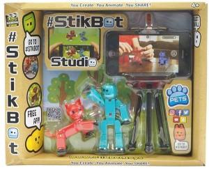 Игровой набор для анимационного творчества Stikbot 'S1 – Студия' (2 экскл. фигурки, штатив) (TST615A)