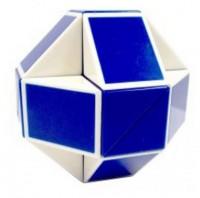 Головоломка Rubiks Змейка бело-голубая (RBL808-1)