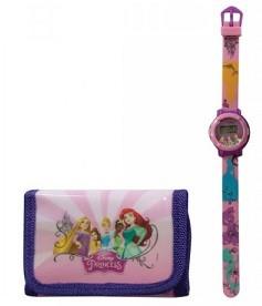 фото Набор TBL Сумка, кошелек и цифровые часы 'Принцессы' (PS36308) #2
