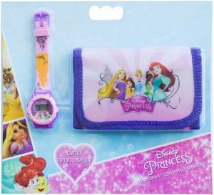 Набор TBL Цифровые часы и кошелек 'Принцессы' (PS32447)