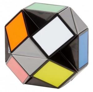 Головоломка Rubiks Змейка разноцветная