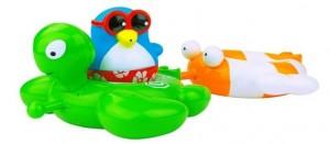 фото Набор игрушек для ванны Water Fun 'Веселые друзья - пингвин, черепаха, рыбка' (23146) #2