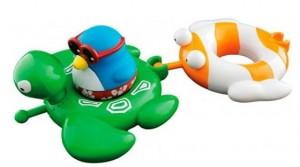 фото Набор игрушек для ванны Water Fun 'Веселые друзья - пингвин, черепаха, рыбка' (23146) #3