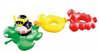 Набор игрушек для ванны Water Fun 'Веселые друзья - пингвин, черепаха, утка, краб' (23144)
