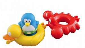 фото Набор игрушек для ванны Water Fun 'Веселые друзья - пингвин, утка, краб' (23145) #3
