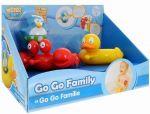 Набор игрушек для ванны Water Fun 'Веселые друзья - пингвин, утка, краб' (23145)