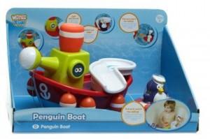 Игрушка для ванны Water Fun 'Пингвинчик-моряк на корабле' (23204)