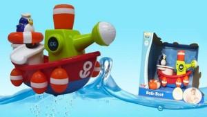 фото Игрушка для ванны Water Fun 'Пингвинчик-моряк на корабле' (23204) #3