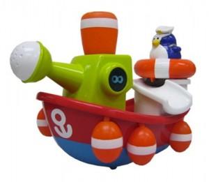 фото Игрушка для ванны Water Fun 'Пингвинчик-моряк на корабле' (23204) #2