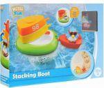 Игрушка для ванны Water Fun 'Пингвинчик на лодочках' (23141)