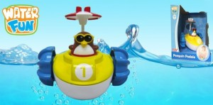 фото Игрушка для ванны Water Fun 'Пингвинчик на водном велосипеде' (23206) #2