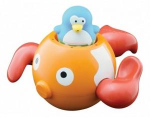 фото Набор игрушек для ванны Water Fun 'Пингвинчик на золотой рыбке' (23142) #2