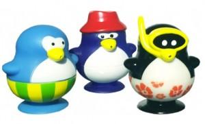 фото Набор игрушек для ванны Water Fun 'Пингвины на пляже' (23210) #3
