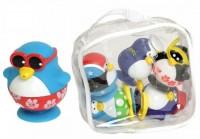 Набор игрушек для ванны Water Fun 'Пингвины на пляже' (23210)