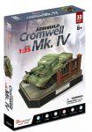 Трехмерная головоломка-конструктор CubicFun 'British Cromwell Mk. IV' (JS4203h)