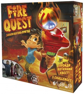 Настільна гра-квест Yago 'Fire Quest' (YL041)