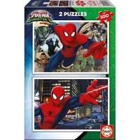 Пазл EDUCA Человек-паук, 2 пазла по 100 элементов (EDU-17171)