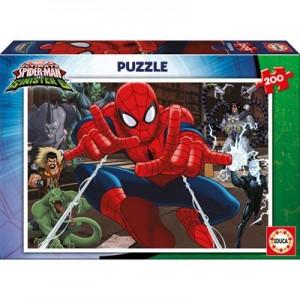 Пазл EDUCA Человек-паук, 200 элементов (EDU-17178)