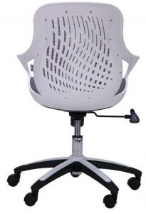 фото Кресло Art Metal Furniture Колибри белый/сетка серая (X-10) (259167) #6